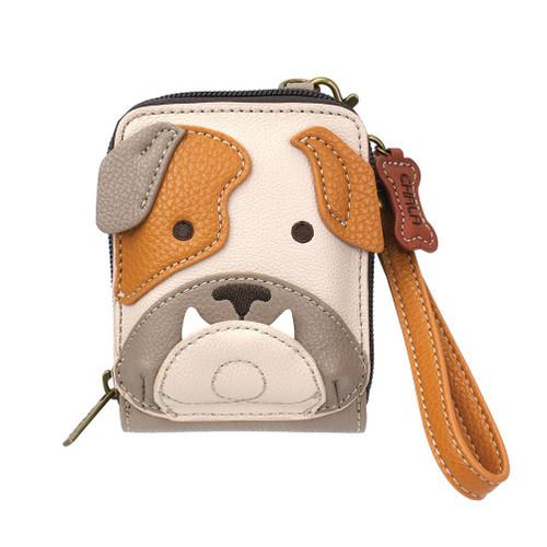 Bulldog Credit Card wallet front view