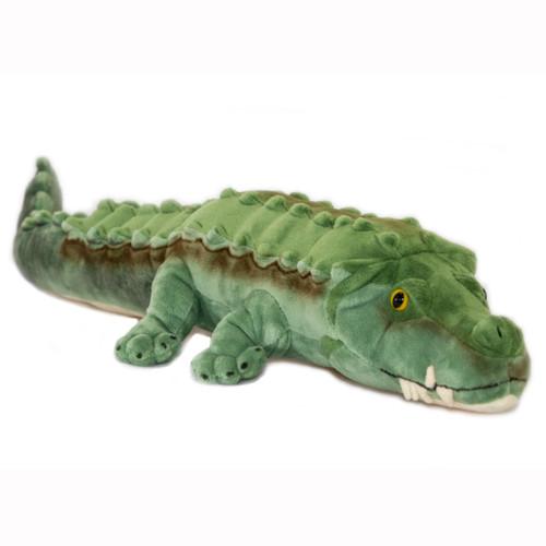Crocodile Plush Toy - Cole - 58 cm - Hand made