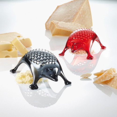 Koziol Kasimir cheese grater hedgehog shape - multiple colours - BPA free - Made in Germany