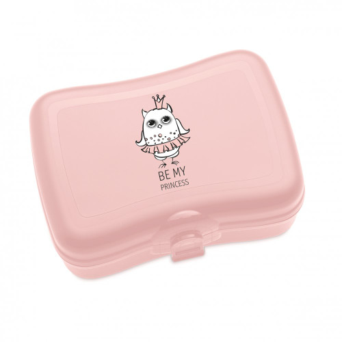 "Koziol Elli food/non food storage boxes ""Be my princess"" - pink - BPA free - Made in Germany"