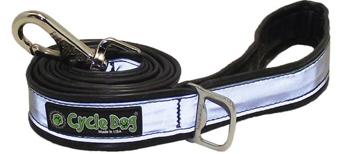Cycle Dog - Silver Max - Reflective Leash - 183 cm long - width approx  3.2 cm