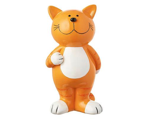 Mila Figure - Ginger Cat standing -  16 cm - Polyresin