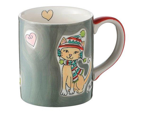 Mila Cat Mug - Wintercats - 280 ml