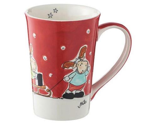 Mila Tea mug - Moose Family - 350 ml