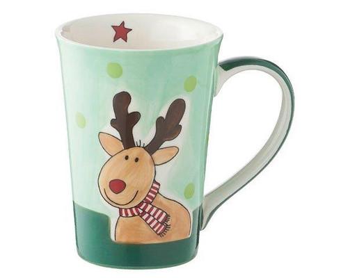 Mila Reindeer mug - Elk Gustav - 350 ml - Christmas mug