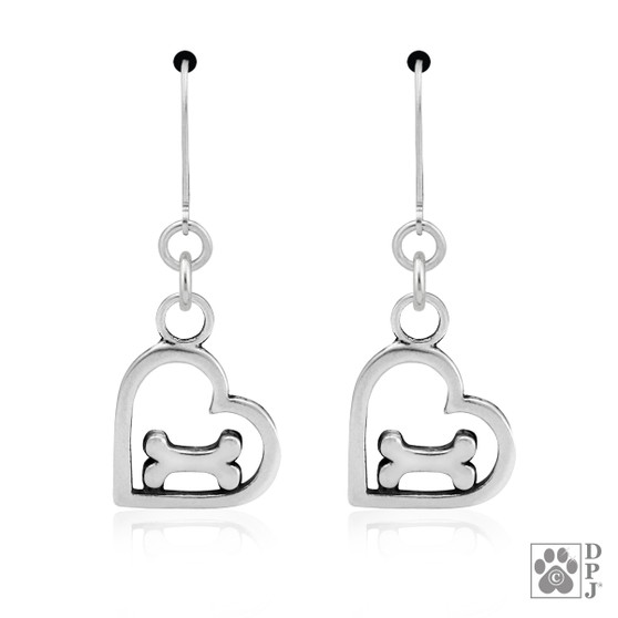 You feed my soul Earrings - 925 recycled Sterling Silver