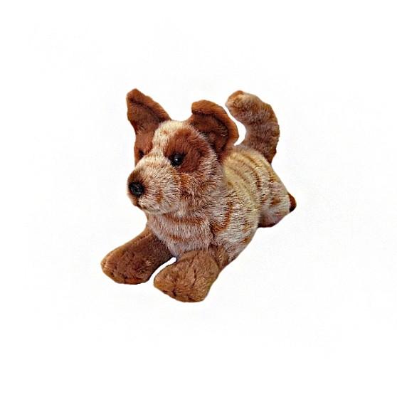 Red Heeler Cattle Dog  - Flame - Plush - 28 cm
