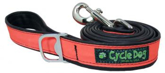 Cycle Dog - Orange Max - Reflective Leash - 183 cm long - width approx  3.2 cm