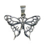 Butterfly Pendant - 3.5 cm - 925 Sterling silver
