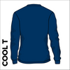 St. Theresas navy Long Sleeve athletics Cool T-Shirt back image