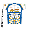 Summer club bundle kit. Detail image of the club cycle jersey included in the club kit bundle deal.