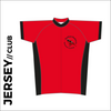 Winter club bundle kit. Detail image of the club cycle jersey included in the club kit bundle deal.