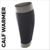 custom printed calf warmer - black