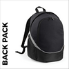 Black team wear backpack
