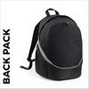 custom printed Black team wear backpack