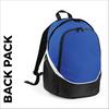 custom printed Royal team wear backpack
