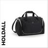 custom printed Black team wear holdall