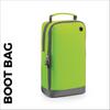 custom printed Green bootbag
