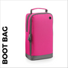 custom printed Pink bootbag