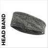 custom printed Head Band in grey marl