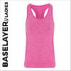 Pink ladies baselayer vest