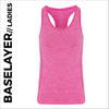 custom printed Pink ladies baselayer vest