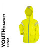 cozy reflective youth cycling and active wear jacket front