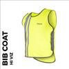 reflective lightweight activewear bib front