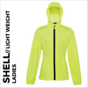high visibility ladies ultra light jacket