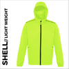 high visibility ultra light jacket