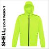 high visibility ultra light jacket