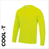 high visibility long sleeve cool T