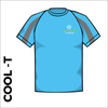 cool T with printed club badge on front