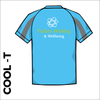 cool T with printed club logo on back