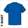 Royal T-Shirt, Cotton with embroidered chest logo, back image