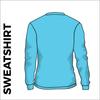 Sky Blue sweater back