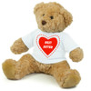 personalised Teddy bear with your own message and custom design