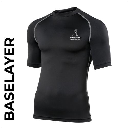 DM-Fitness black short sleeve baselayer
