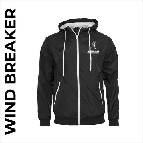 DM-Fitness black windbreaker