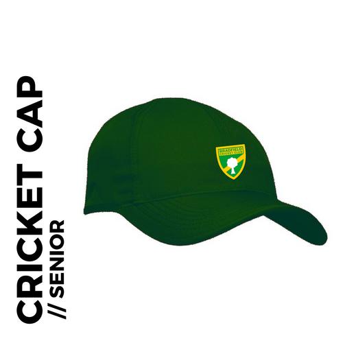 Bradfield CC senior Cap, Club Badge Embroidered on front