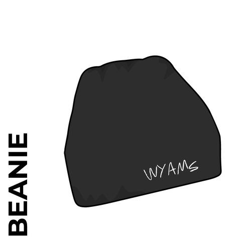beanie with embroidered club crest on the front.