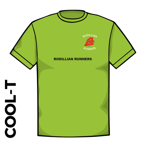Rodillian Runners Green Cool T