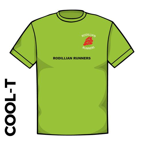 Rodillian Runners Green Cool T