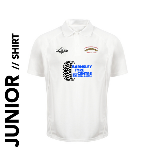 Worsbrough Bridge CC - Junior Cricket Shirt