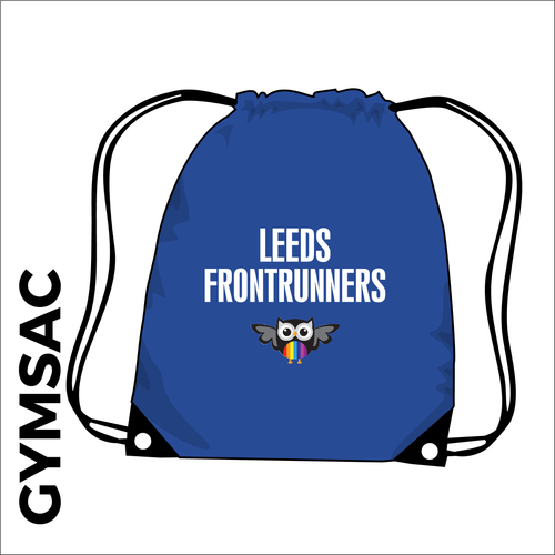 gymsac with printed club logo