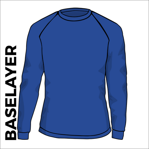 base layer, front view