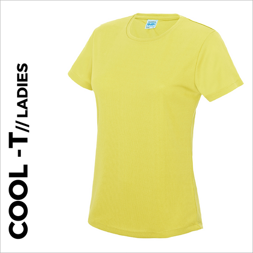 Short Sleeve athletics ladies Cool T-Shirt front image