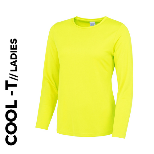 Long Sleeve athletics ladies Cool T-Shirt front image
