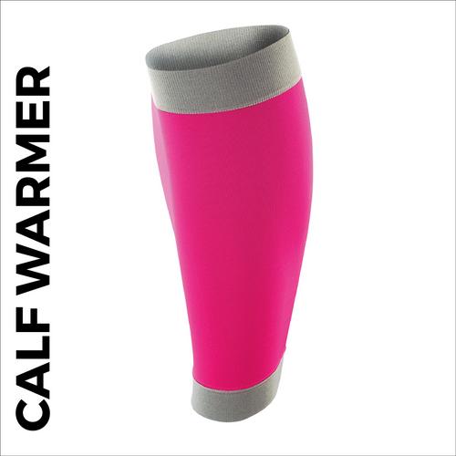 custom printed calf warmer - pink
