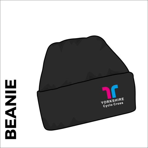 Turn up beanie with embroidered club crest on the front.